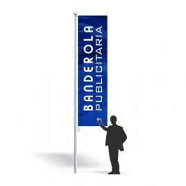 Banderola publicitaria 100 x 300 cm.