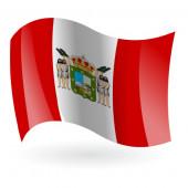Bandera de Andorra - sobremesa