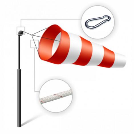 Manga de viento dirrecional (Anemoscopio)