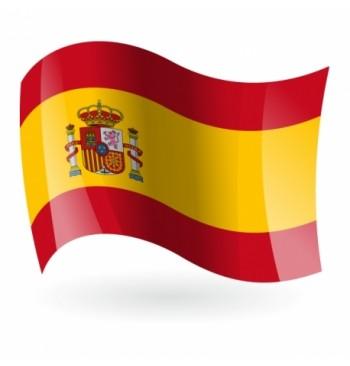 Bandera de España c/e - Bordada