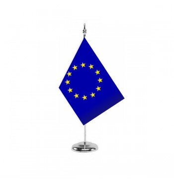 Bandera De Europa ( Unión Europea ) - Sobremesa