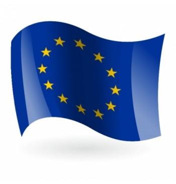 Bandera de Europa (Unión Europea) - Raso