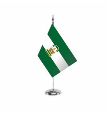 Bandera de Andalucía c/e - Sobremesa