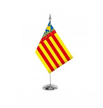 Bandera de la Comunidad Valenciana (Comunitat Valenciana) - Sobremesa