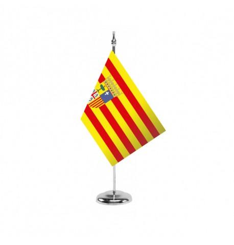 Bandera de Aragón - Sobremesa