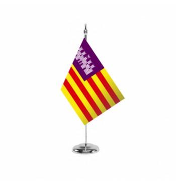 Bandera de las Islas Baleares ( Illes Balears ) - Sobremesa