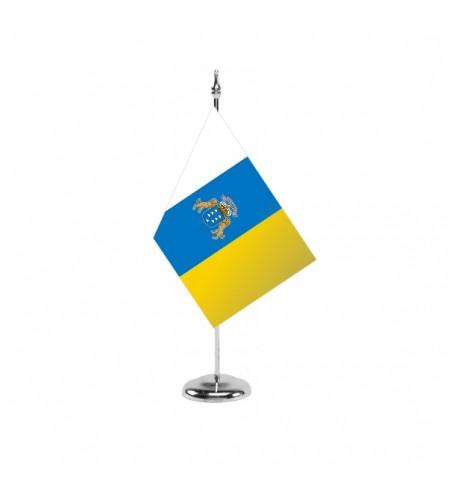 Bandera de Canarias - Sobremesa