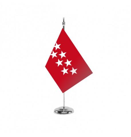Bandera de la Comunidad de Madrid - Sobremesa