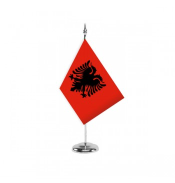 Bandera De Albania - Sobremesa