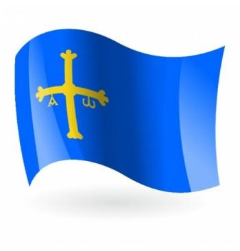 Bandera de Asturias - Raso