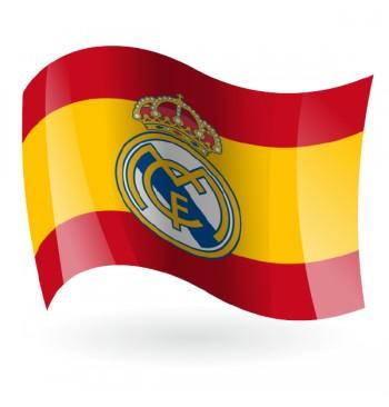 España con Escudo Equipo de Fútbol