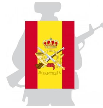 Bandera De Percha / Mochila De Infantería