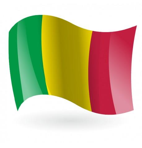 Bandera de la República de Malí