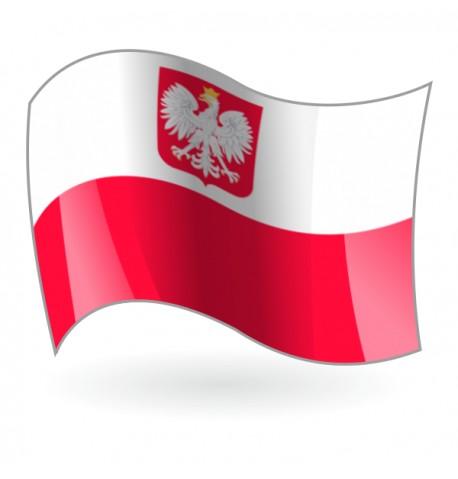 Bandera de Polonia Náutica