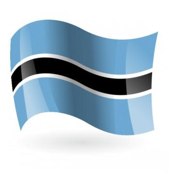 Bandera de la República de Botsuana