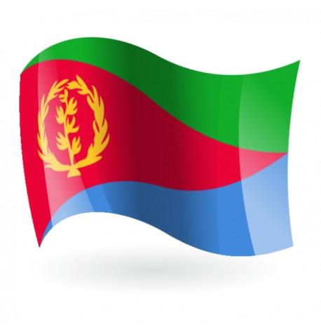Bandera del Estado de Eritrea