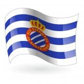 Bandera del Real Club Deportivo Español mod. 1
