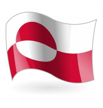 Bandera de Groenlandia