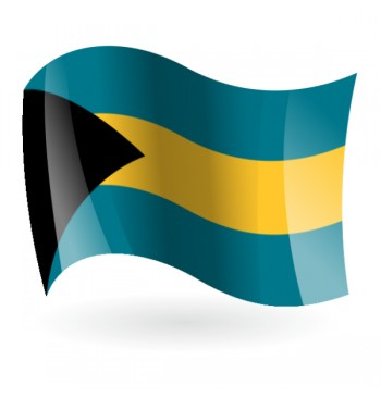 Bandera de las Bahamas ( Mancomunidad de las Bahamas )