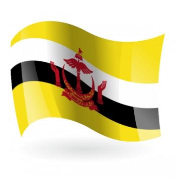 Bandera del Estado de Brunéi