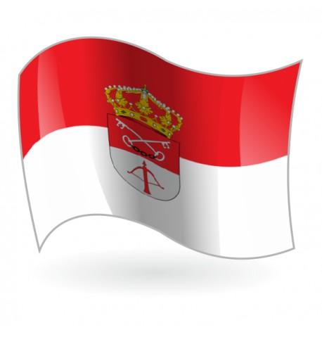 Bandera de El Ballestero
