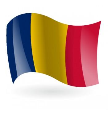 Bandera de El Chad ( República del Chad )