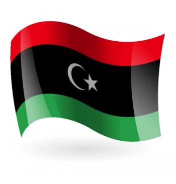 Bandera del Estado de Libia