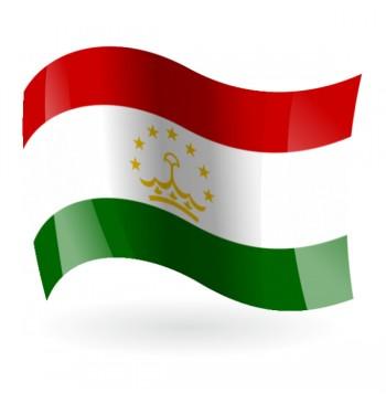 Bandera de la República de Tayikistán