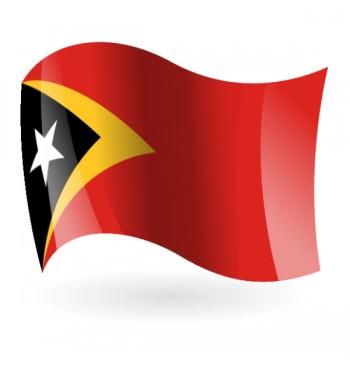 Bandera de la República Democrática de Timor Oriental