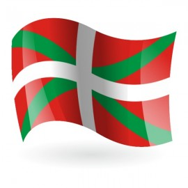 Bandera de Euskadi ( País Vasco )