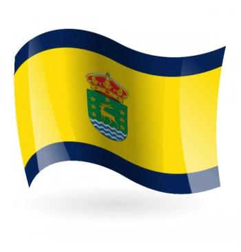 Bandera de Cervera de Buitrago