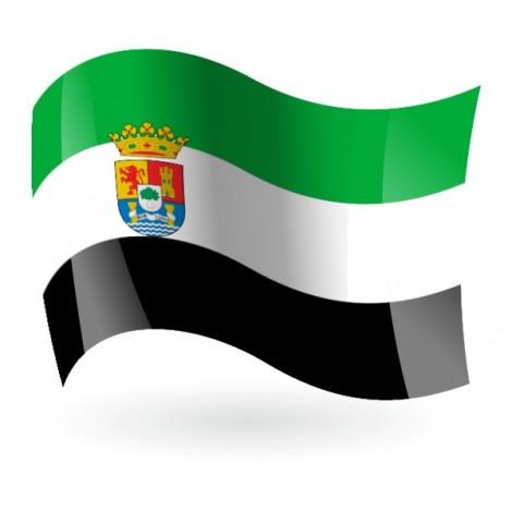 Bandera de Extremadura c/e