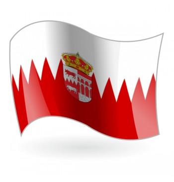 Bandera de La villa de Bustarviejo