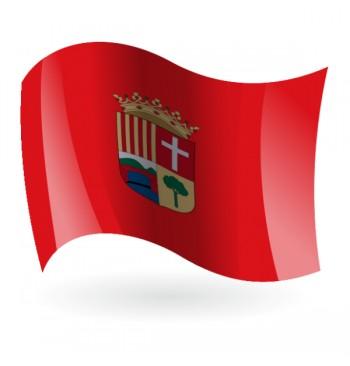 Bandera de la Alcudia de Crespins ( l'Alcúdia de Crespins )