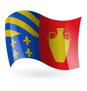 Bandera de Alfara de la Baronía