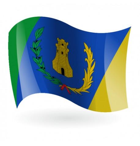 Bandera de Montán ( Montan )