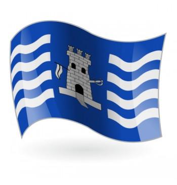 Bandera de Torrechiva ( Torre-xiva )