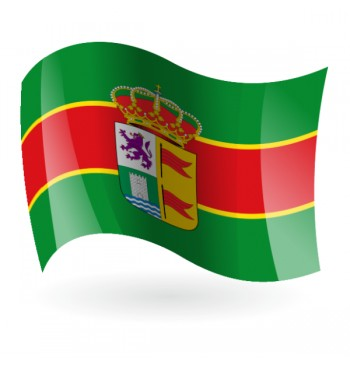 Bandera de Palacios de la Valduerna