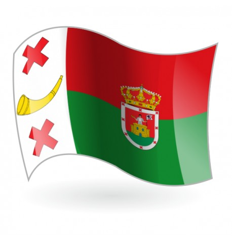 Bandera de la Pobladura de Pelayo García