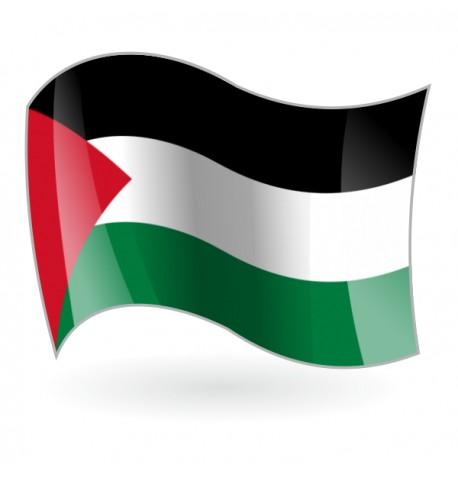 Bandera del Estado de Palestina