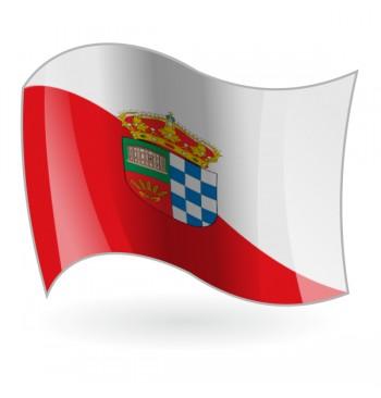 Bandera de Coca de Alba