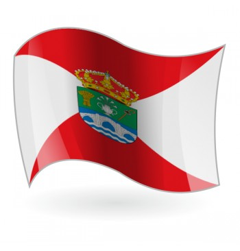 Bandera de Espino de la Orbada