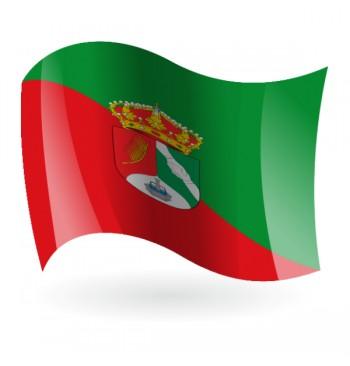 Bandera de La Fuente de San Esteban