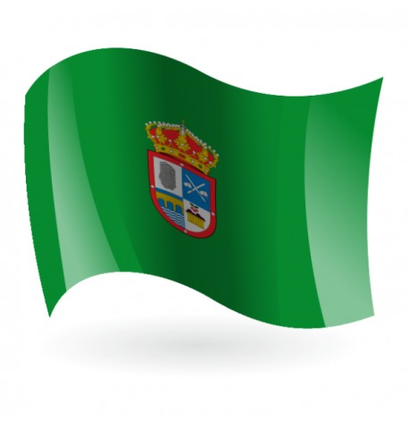 Bandera de Santibáñez de la Sierra