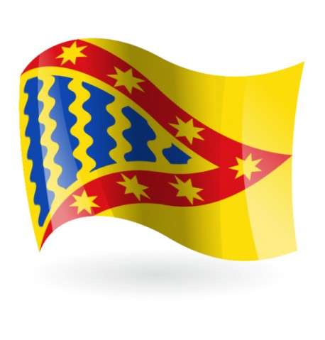Bandera de Vega de Tirados