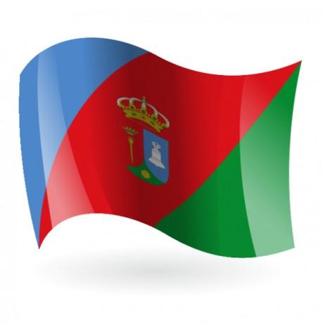 Bandera de Villares de la Reina