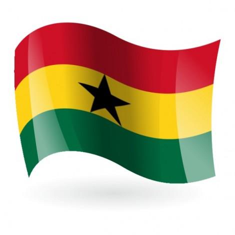 Bandera de la República de Ghana