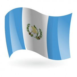 Bandera de la República de Guatemala
