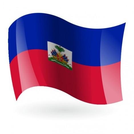 Bandera de la República de Haití