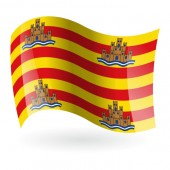 Bandera de Ibiza ( Eivissa )